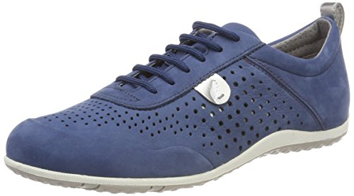 Denim C4008 Blue Women's D B Vega Geox Trainers wZ8qBA7