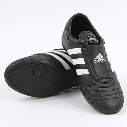 ADIDAS SM II SHOES - black w/white stripes - 8.5