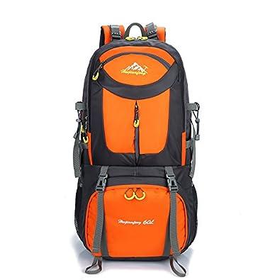 958369c1aa58 登山リュック 大容量 40L 50L 60L リュックサック ナイロン リュックサック 通気 アウトドア 旅行 軽量