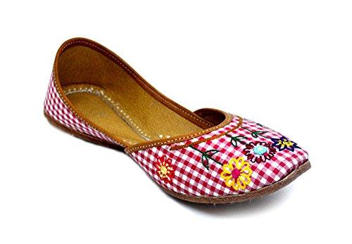 Indie Artisans Sandales Compensées Femme