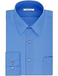 Big and Tall Mens Dress Shirts Tall Fit Poplin Point Collar