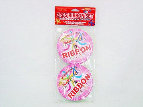 RIBBON 4ASST COLOR 2ROLLS1.8MM20YA , Case of 96
