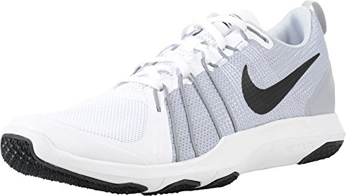Nike Flex Train Aver White/Pure Platinum/Black Men's Cross Training Shoes