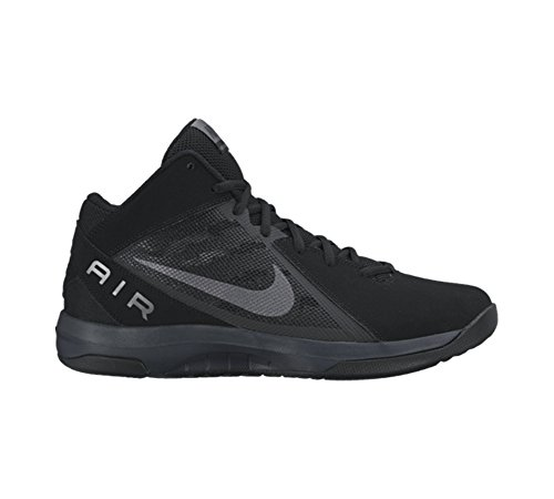 Nike Mens The Overplay VIII Black/Mtlc Dark Grey Anthrct