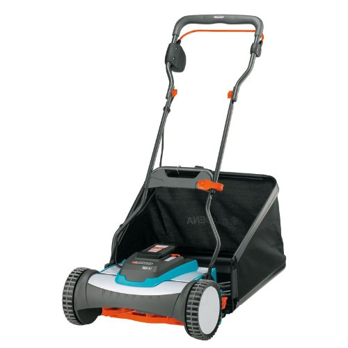 Gardena 4025-U 15-Inch 25-Volt 3.2 amp Lithium-Ion Cordless Push Reel Lawn Mower by Gardena