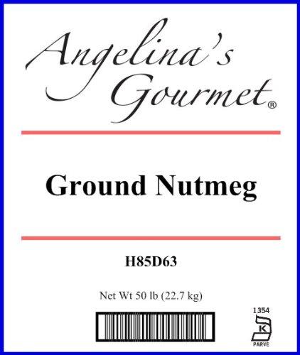Nutmeg, Ground - 50 Lb Bag / Box Each by Woodland Ingredients