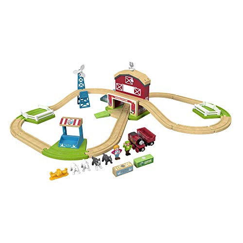 Thomas & Friends Fisher-Price Wood, Family Farm Set Toy, Multicolor