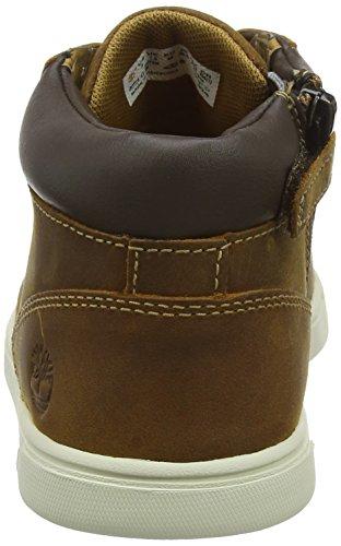 Leather Brown Chukka Enfant Medium Marron Marron Groveton Bottes Mixte Timberland Czt45wqxz