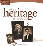 Simple Scrapbooks Make a Heritage Scrapbook, , 1929180675