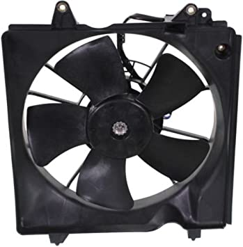 Radiator Cooling Fan Motor Blade /& Shroud Assembly for 12-13 Honda Civic