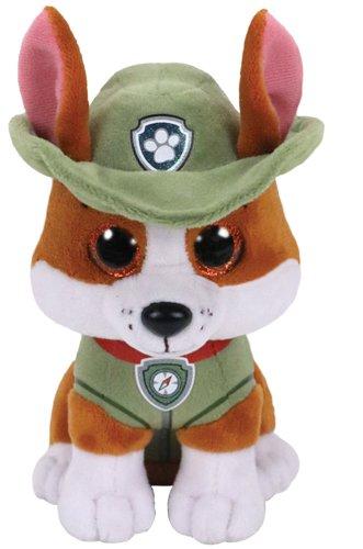 Ty- Paw Patrol Tracker Cane Peluches Giocattolo 524, Multicolore, 8421412990