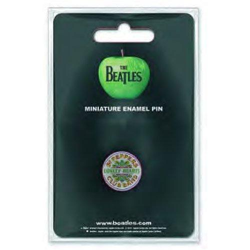 Beatles Mini Pin Badge - Sgt Pepper Logo