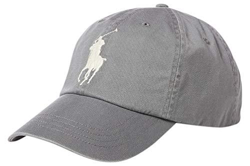 Polo Ralph Lauren Big Pony Athletic Twill/Chino Baseball Cap - Perfect Grey