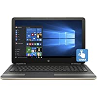 HP 15.6 diagonal HD SVA BrightView WLED-backlit touch Laptop, AMD Dual-Core A9-9420 APU (3 GHz, 1 MB cache) + AMD Radeon R5 Graphics, 12GB RAM, 1TB HD, Silk gold