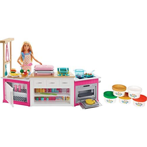 Barbie Cozinha De Luxo Mattel Loira