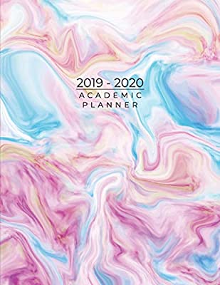 2019-2020 Academic Planner: Weekly Planner For Schedule Organize ...