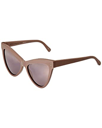 df62b02f9e2 Amazon.com  Stella McCartney Women s Extreme Cat Eye Sunglasses ...