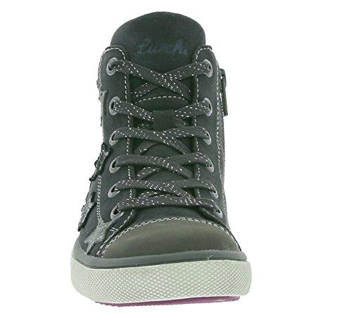 Lurchi Starlet-tex - Zapatillas Niñas Charcoal
