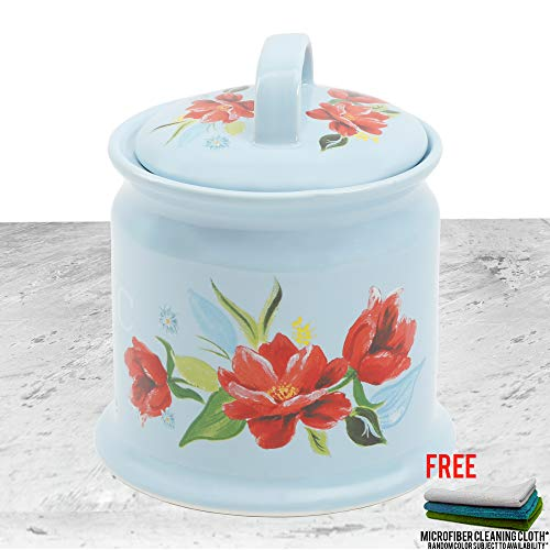 5.7-Inch Spring Bouquet Garlic Keeper with