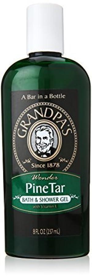 Grandpa's Brands Pine Tar Bath and Shower Gel, 8 Ounce by Grandpa's