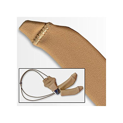 Ear Gear - Hearing Instrument Protection - Original Corded Beige (Fits hearing instruments 1.25'' - 2'')