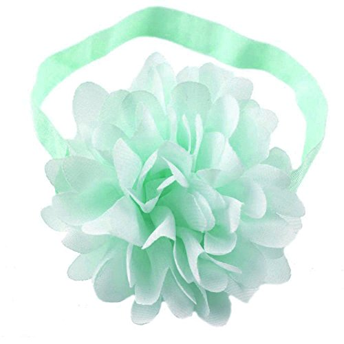 LD DRESS Cute baby elastic headband (mint)