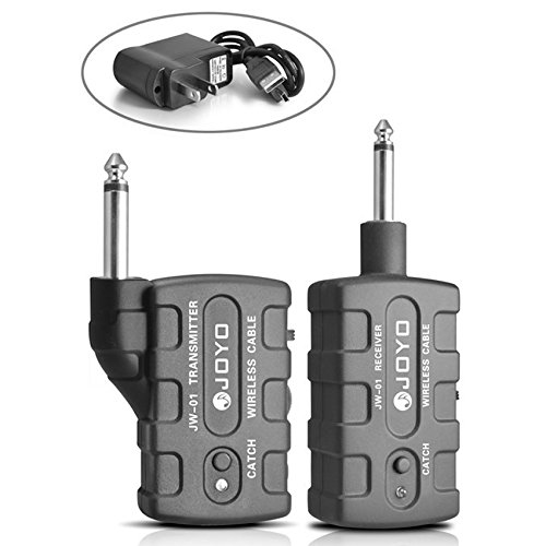 FOME JOYO JW-01 Rechargeable 2.4G Audio Wireless Digital Guitar Transmitter Receiver + FOME Gift by JOYO
