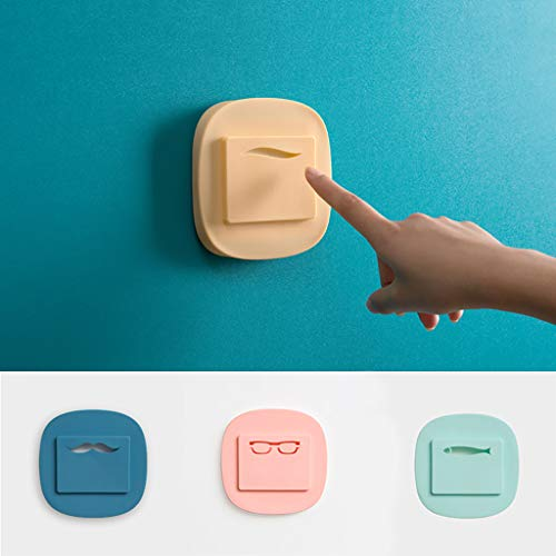 AMOFINY Home Decor Simple Cartoon Silicone Dust Switch Sticker from AMOFINY-Home Decoration