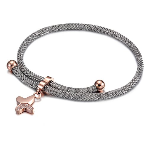 CIUNOFOR Charm Bracelet for Women Girls ...