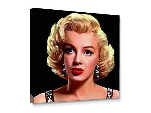 - Niwo Art-Marilyn Monroe A, Classic Movie Stars Canvas Wall Art Home Decor,Stretched Ready to Hang