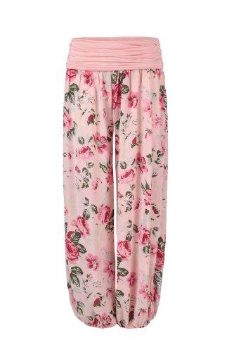 Apparel - Outlet - Pantalón - tiro caído - para mujer Rosa