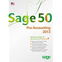 Sage 50 Pro Accounting (Sage Peachtree) 2013 US Edition [Old Version]