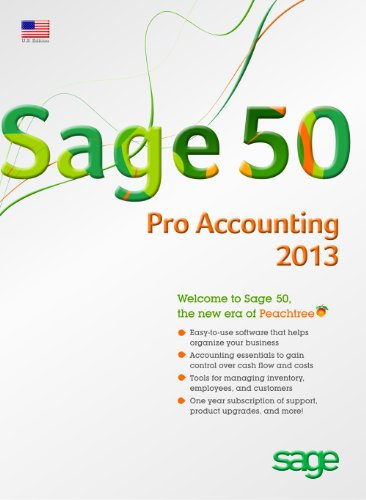 Sage 50 Pro Accounting (Sage Peachtree) 2013 US Edition [Old (Microsoft Accounting Payroll)