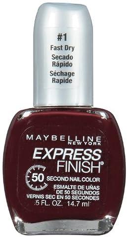 Maybelline New York Express Finish 50 Second Nail Color, Mocha Blast 290, 0.5 Fluid Ounce (Garnier Mocha)