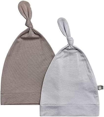 0-3 Months, Storm KYTE BABY Organic Bamboo Baby Beanie Hats Super Soft Knotted Caps Available in a Rainbow of Colours