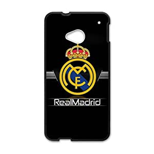 Realmadrid Club Of Futbol Black htc m7 case