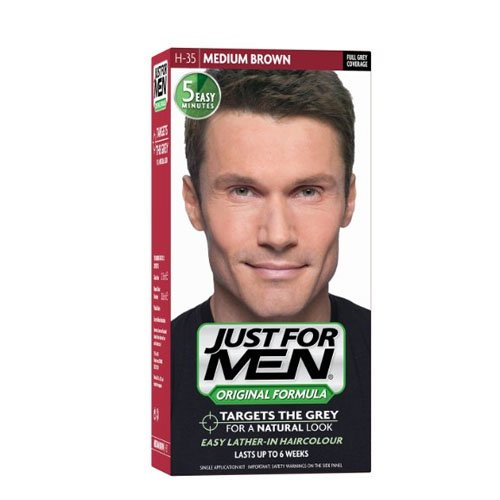 Just For Men Pflege-Tönungs-Shampoo Natur/Mittelbraun 60ml
