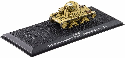 Deagostini 1:72 Diecast Model Tank - M13/40 133 Divisione Corazzata Littorio EL Alamein Egypt 1942 Army Tank #26