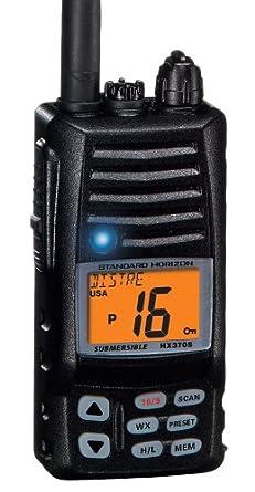 amazon com standard horizon std hx370s vhf marine radio cell rh uedata amazon com Waterproof Radio Construction Standard Horizon Radio Parts