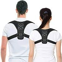 Back Posture Corrector for Women & Men, Adjustable Back Brace to comfortably Improve Posture-Clavicle Support for…