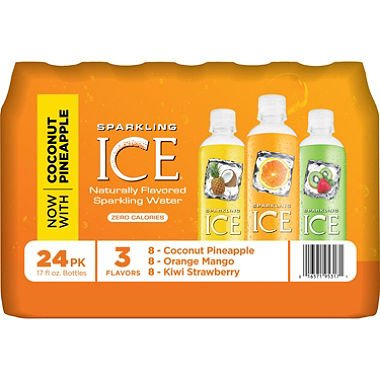 Sparkling ICE Sparkling Water, Variety Pack (17 oz., 24 pk.) by Europe Standard