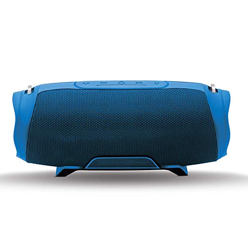 iBall Musi Boom IPX7 Waterproof with Built-in Powerbank Portable Bluetooth Party Speaker (Blue)