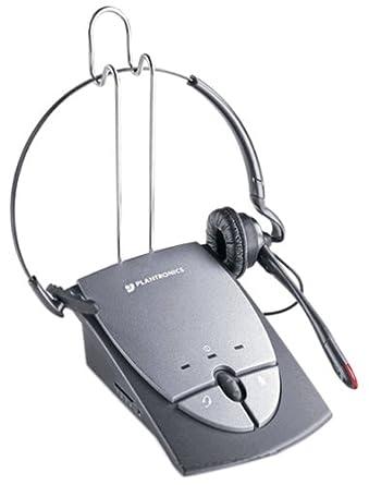 4a7c250ec30 Plantronics S12 Corded Telephone Headset System 64703-03: Amazon.co.uk:  Electronics