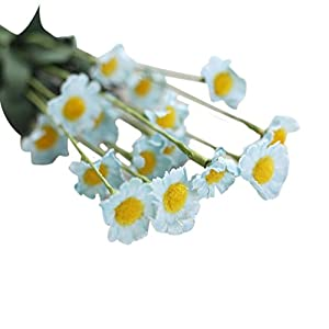 YJYdada Artificial Silk Fake Flowers Small Daisy Wedding Bouquet Party Home Decor 37