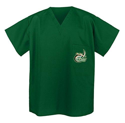 UNCC UNC Charlotte Scrub Shirts - Best UNCC Scrubs -