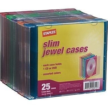 Slim Jewel Cases 25 Pack