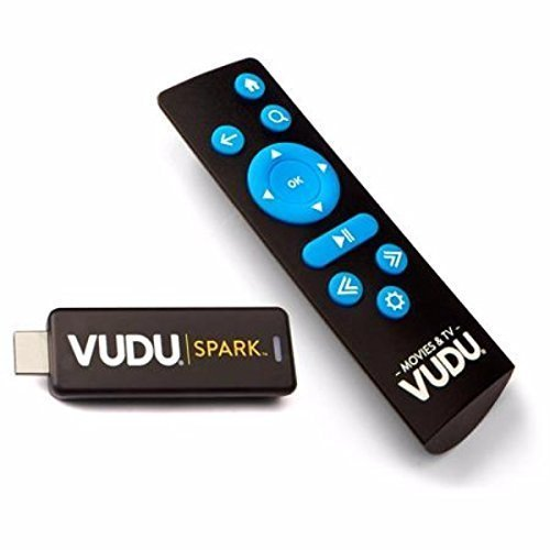 Vudu Spark (Vudu Streaming Stick) to Stream Vudu (Will Also Stream Connected Ultraviolet and Disney Movie Anywhere Accounts) by