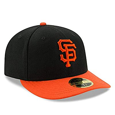 San Francisco Giants Low Profile Fitted Size 7 3/4 Hat Cap - Team Colors