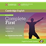 Complete First for Spanish Speakers Class Audio CDs (3) Second Edition