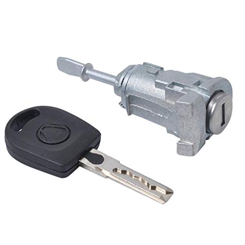 B Blesiya VW Polo Bora 1997-2005 Auto Car Door Lock Key Switch Cylinder + Key Left Side